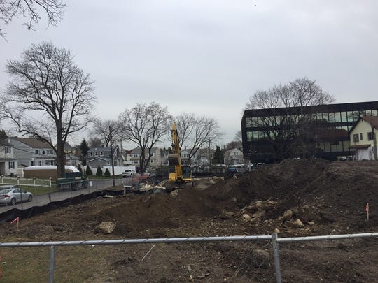 Construction has started at 80 Bowridge Ave. in Rye Brook.