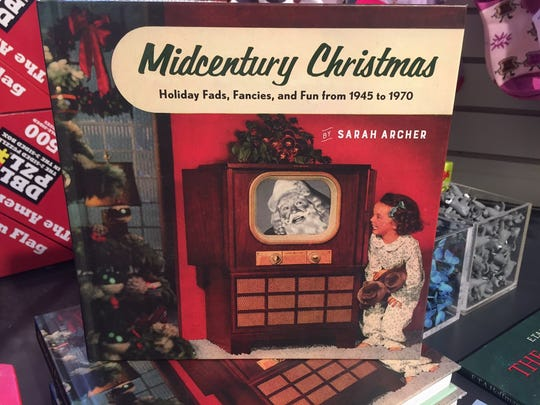 Sarah Archer's 'Midcentury Christmas' is a celebration of everything from classic Christmas specials to aluminum trees to Jell-O molds. You can pick up a copy in the gift shop of the Philadelphia Museum of Art.