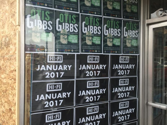 On Jan. 20, Otis Gibbs will play the first show at