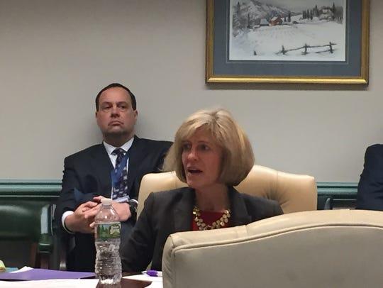 Morris County Freeholder Christine Myers at freeholder
