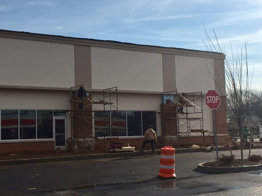 New businesses are under construction on Route 18 in East Brunswick.