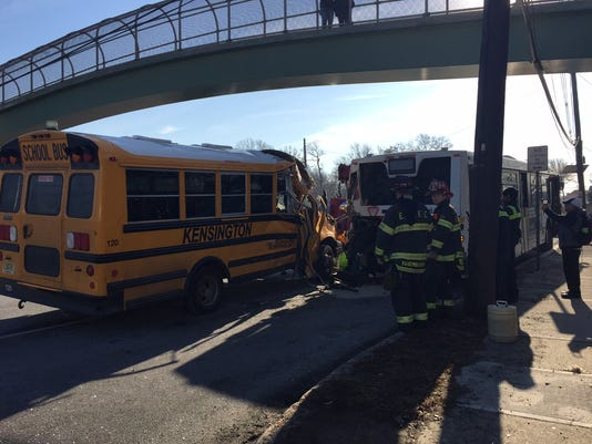 East Brunswick bus accident