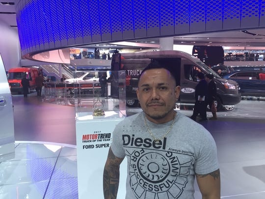 Pedro Andino, 39, said monthly payments on heavy-duty