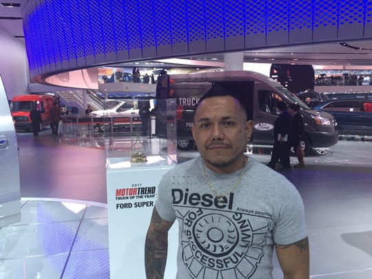 Pedro Andino, 39, said monthly payments on heavy-duty trucks can be $1,000 a month or more.