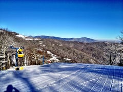 Cold air brings snowmaking and open slopes at Cataloochee