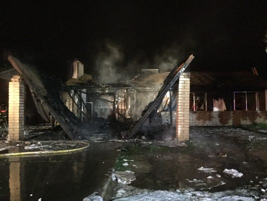 Home near 67th and Minnezona avenues was significantly damaged in a fire early Sunday morning.
