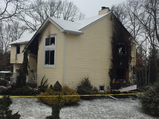 One person was killed and another seriously injured in a fire that broke out early Tuesday morning at a Judy Court home in Old Bridge.
