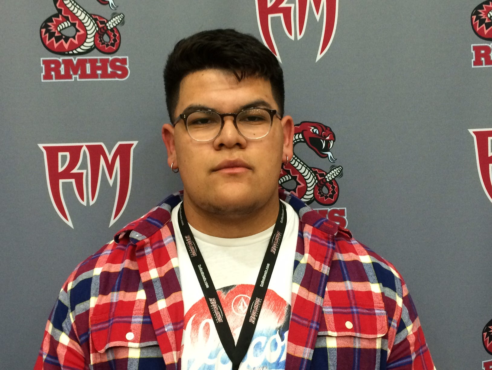 Jonny Avila signed his national letter of intent to play college football at Azusa Pacific.