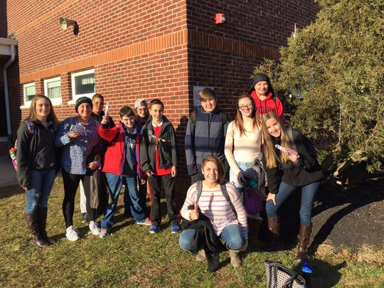Sstudents from Joyce Kilmer School in Milltown were provided the opportunity to spend the day at the Colgate Palmolive Technology Center located in nearby Piscataway.
