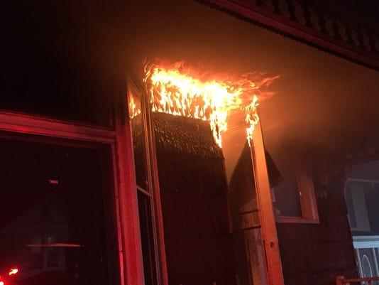 Mount Vernon Road fire