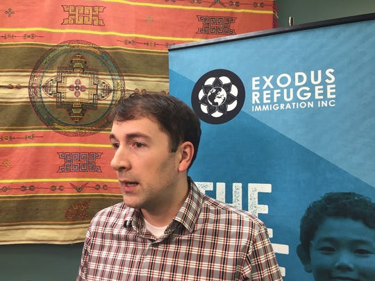 Cole Varga, executive director of Exodus Refugee Immigrant