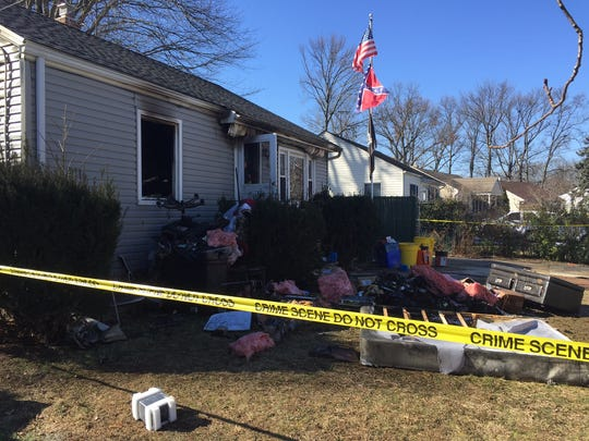One person died in an early morning fire Friday on Nelson Circle in East Brunswick.