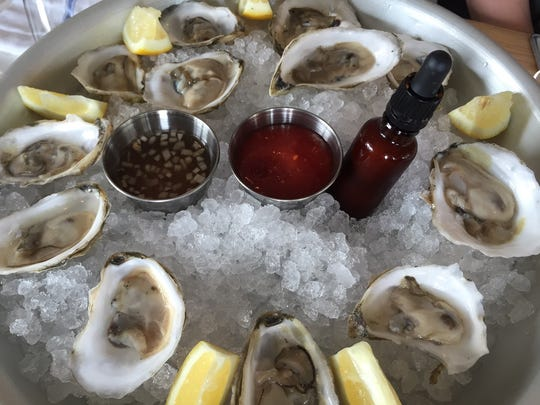 Jianna will offer four to five varieties of oysters daily, served with the restaurant's delicious house made hot sauce.