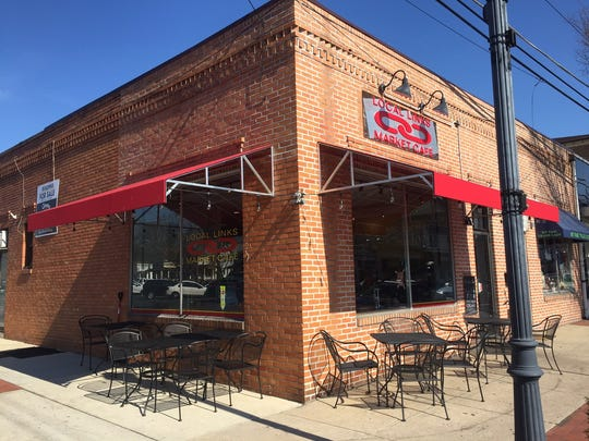 Local Links is located on Station Avenue and offers outdoor seating in nice weather.