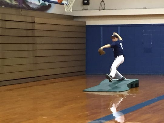 Lebanon Catholic will be relying heavily on junior Nate Hatzfeld on the mound, and at the plate this season.