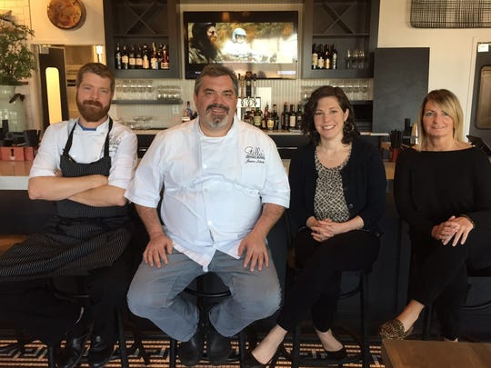 The Stella's Southern Brasserie team, from left to right executive chef Jeff Kelly, owner and chef Jason Scholz, owner Julia Scholz, beverage director Aimee Maher.