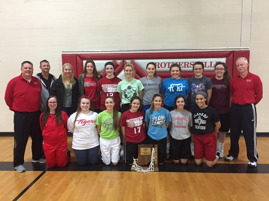 Crothersville's girls basketball team won the school's first-ever sectional title — in any sport.