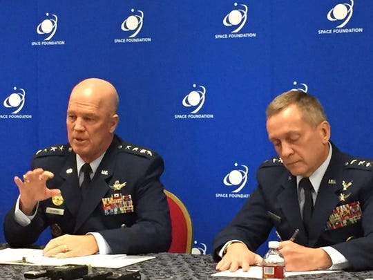 Gen. Jay Raymond, head of Air Force Space Command,
