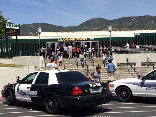 Cajon School - San Bernadino shooting