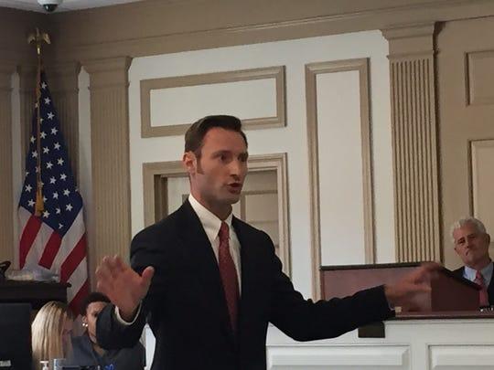 Morris County Assistant Prosecutor Christopher Schellhorn