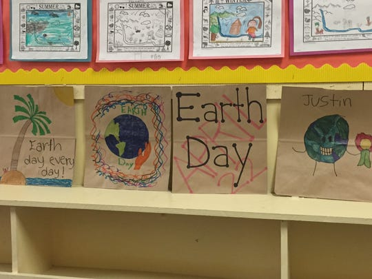Parker Elementary School's PEPP students are celebrating Earth Day, April 22, in an imaginative way.