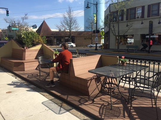 The Parklet moves around Collingswood, offering an
