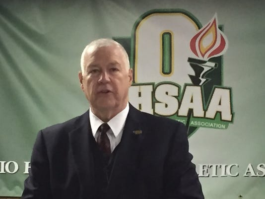 OHSAA Commissioner Dan Ross
