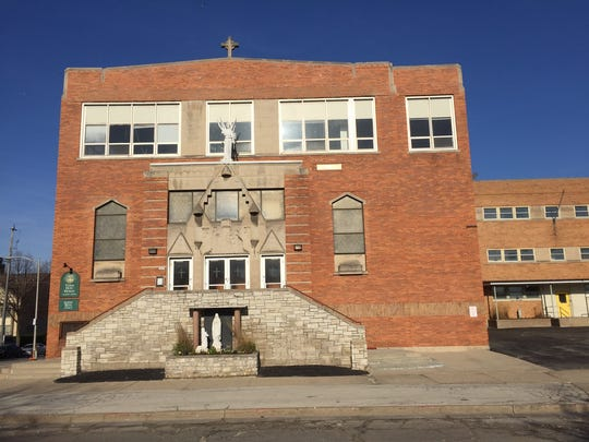 St. Rita Catholic Church, 1601 N. Cass St., would be purchased by developer James Tarantino and replaced with a new building that would provide senior housing, as well as worship space.