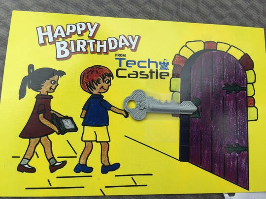 Visit TechCastle.com to sign up to receive a postcard
