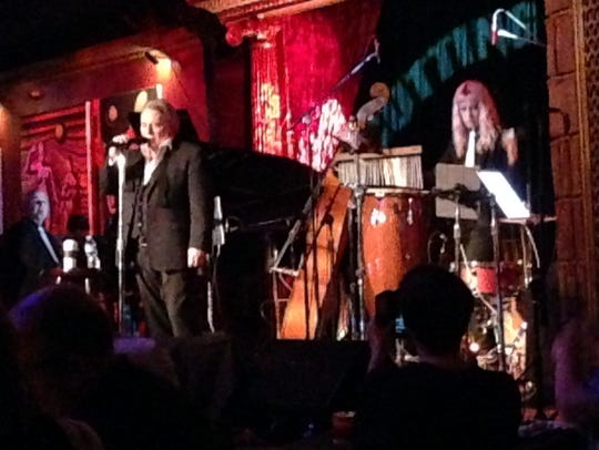 Eddie Brigati at the Cutting Room in New York City.
