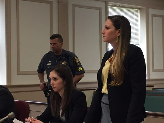 From left, Morris County Assistant Prosecutors Alexis