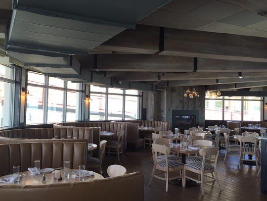 The renovated dining room at The Robinson Ale House