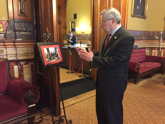 Gov. Terry Branstad recalls previous trips Chinese President Xi Jinping has made to Iowa hours before he was confirmed as U.S. Ambassador to China by the U.S. Senate.