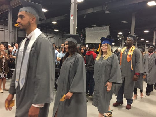 Middlesex County College held its 50th Commencement on Tuesday.
