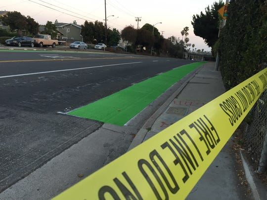 South Seaward Avenue was closed for a time between Alessandro Drive and San Marcos Street.