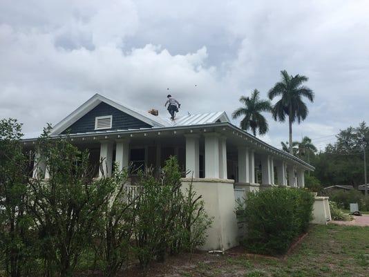 Camp-Rigby Roof fail