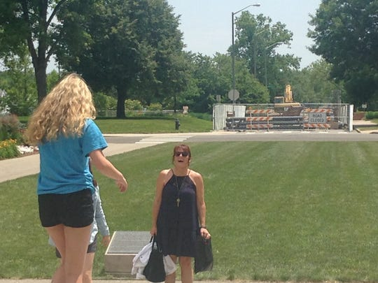Freshman orientation and construction zones are a familiar site at Ball State University this summer.