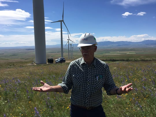 """Sam Milodragovich, a biologist with NorthWestern Energy, says if NorthWestern is going to be involved in wind projects it must understand what the risks are. """"There's a lot of interest in our industry to do the right thing and this is part of that,"""" he says of a post-construction study at Spion Kop wind farm."""