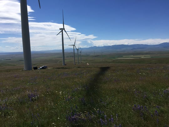 The 40 Megawatt Spion Kop Wind Farm Has 25 Turbines