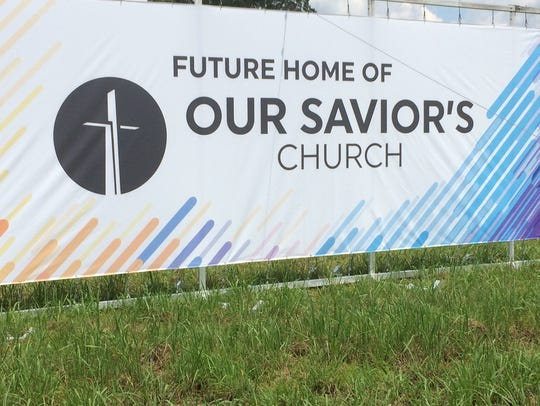 Our Savior's Church plans a church site on Interstate
