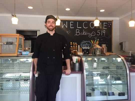Kitchen 519 Chef John Stewart opened Bakery 519 across
