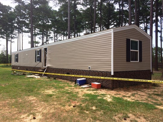 Mobile home where Deltra Henderson was killed July