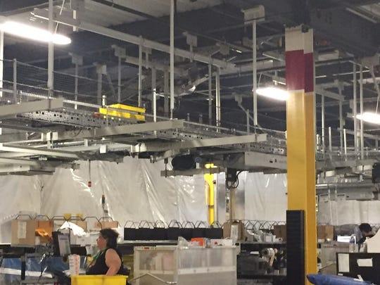 Amazon Fulfillment Center in Robbinsville.