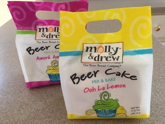 Molly & Drew Beer Cakes