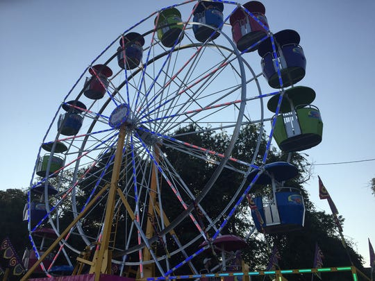Scenes from the third day of the Middlesex County Fair.