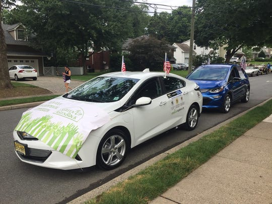 This electric vehicle served as the Glen Rock Environmental
