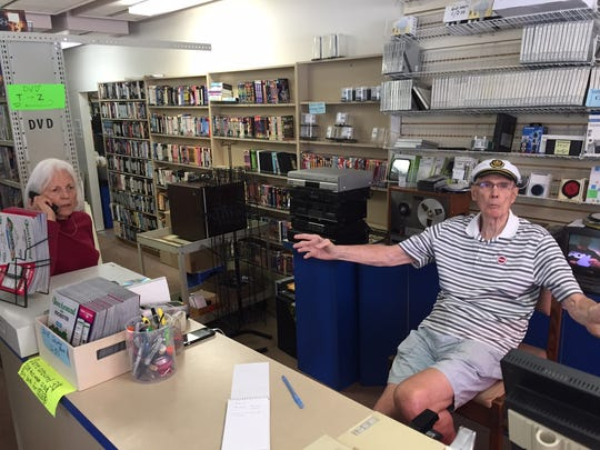 Beverlee and Bob Hyatt discuss closing their video rental business.