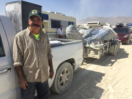 Jose Benavides, Phoenix, first-time Burner and artist