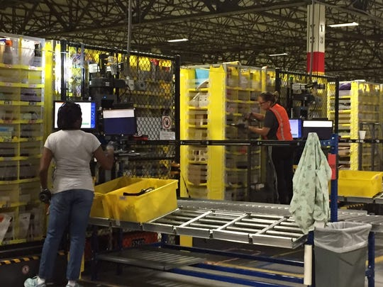 More than 3,000 employees work at Amazon Carteret.