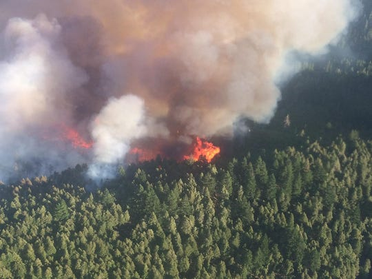 Chetco Bar Fire is burning in southwest Oregon.